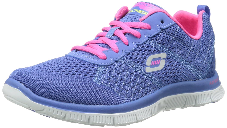 Skechers Flex Appeal Obvious Choice Damen Sneakers  385 EU|Blau (Pwpk)