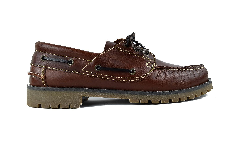 Zerimar Zapato Náutico de Piel para Hombre | Zapatos Náuticos Ligeros | Mocasines Cuero | Mocasines Piel Hombre | Tallas Grandes 47-50: Amazon.es: Zapatos y ...