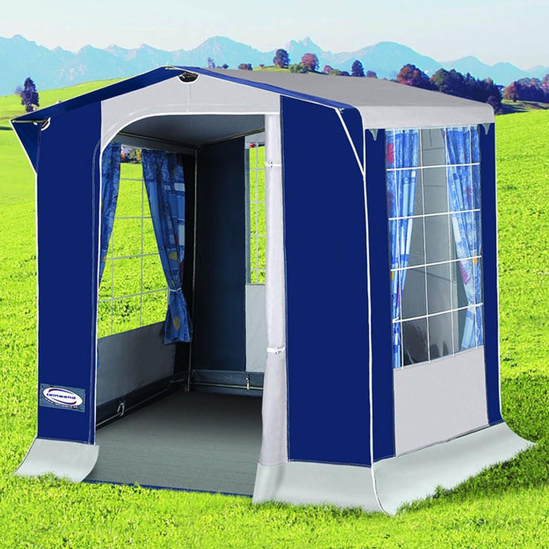 150 x 120 x 204 cm Leinwand Unisexs Ronda Kitchen Tent-Blue