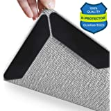 Rug Gripper X-Protector 8 Pack – Best Rug Grippers - Rug Tape Pad - Anti Curling Carpet Pad. Keeps Your Rug in Place & Makes Corners Flat. Premium Carpet Gripper – Anti Slip Rug Pad for Rug Non Slip!
