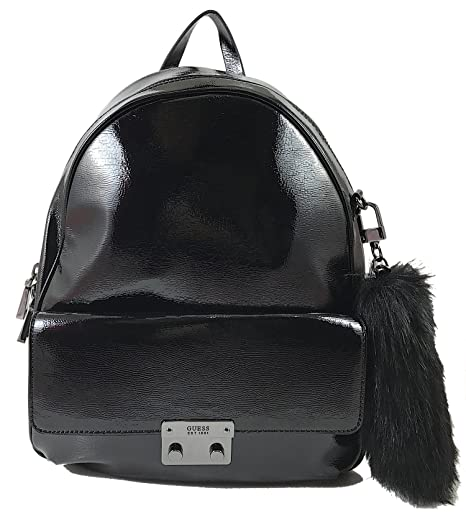 Guess - Mochila casual Negro Black Shine