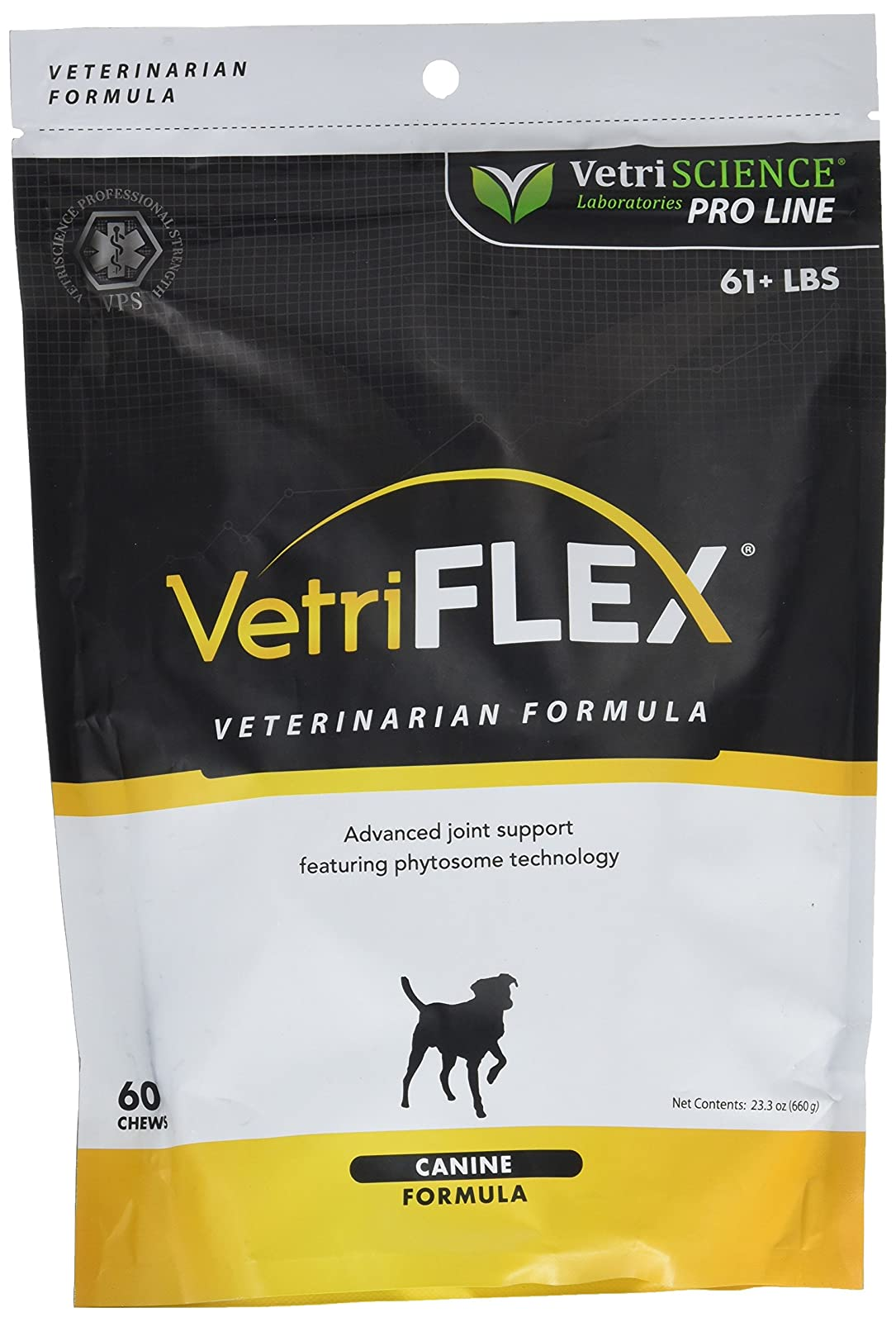 VetriScience Vetri-Flex ChewsCanine over 60 lb 026664000033 - 1