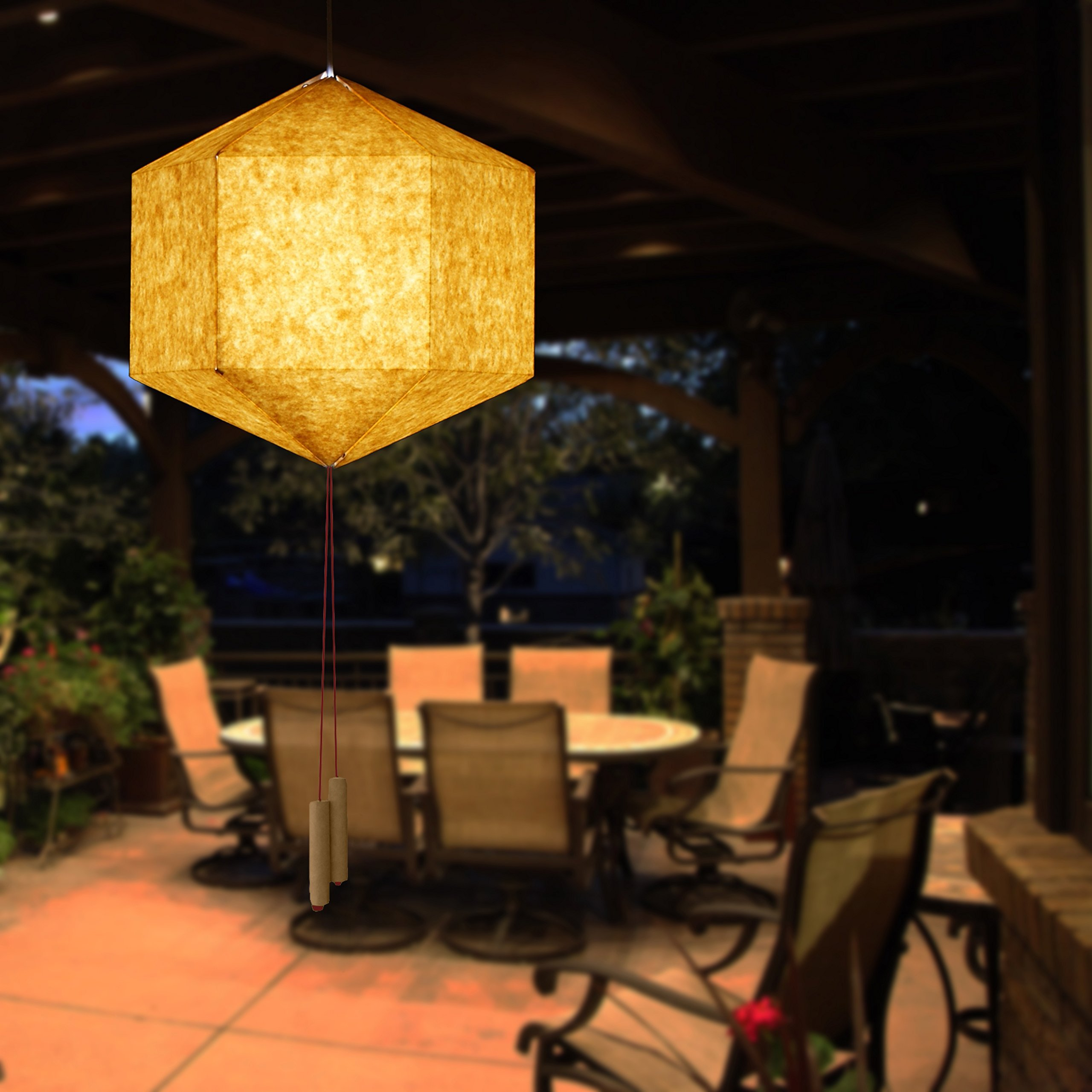 Brownfolds Paper Lantern Brown by Brownfolds