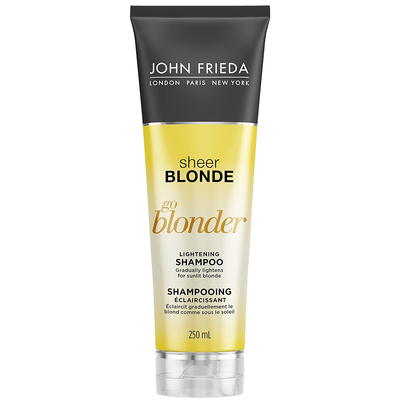 JOHN FRIEDA Sheer Blonde Go Blonder Lightening Shampoo, 250 ml Kao