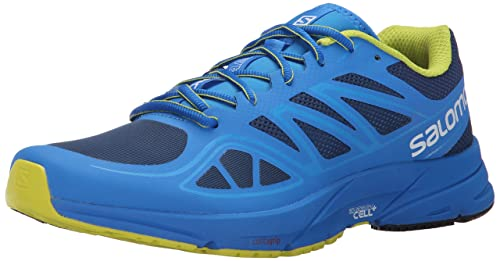 05aa50f3eb81 Image Unavailable. Image not available for. Colour  Salomon Men s Sonic  Aero Running Shoe ...