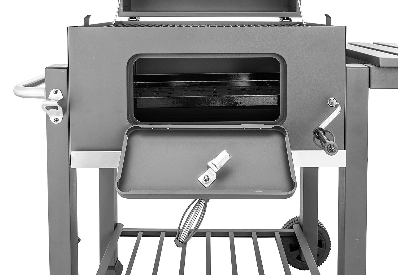 Jamestown Holzkohlegrill Test : Activa grill grillwagen angular holzkohlegrill 115 x 67 x 107 cm