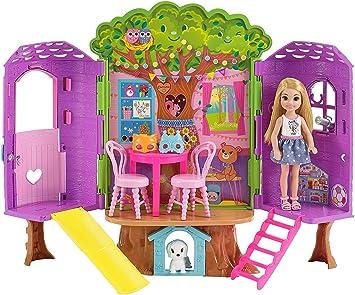 Barbie-la Casa sull'Albero di Chelsea-con Bambola Inclusa-Due