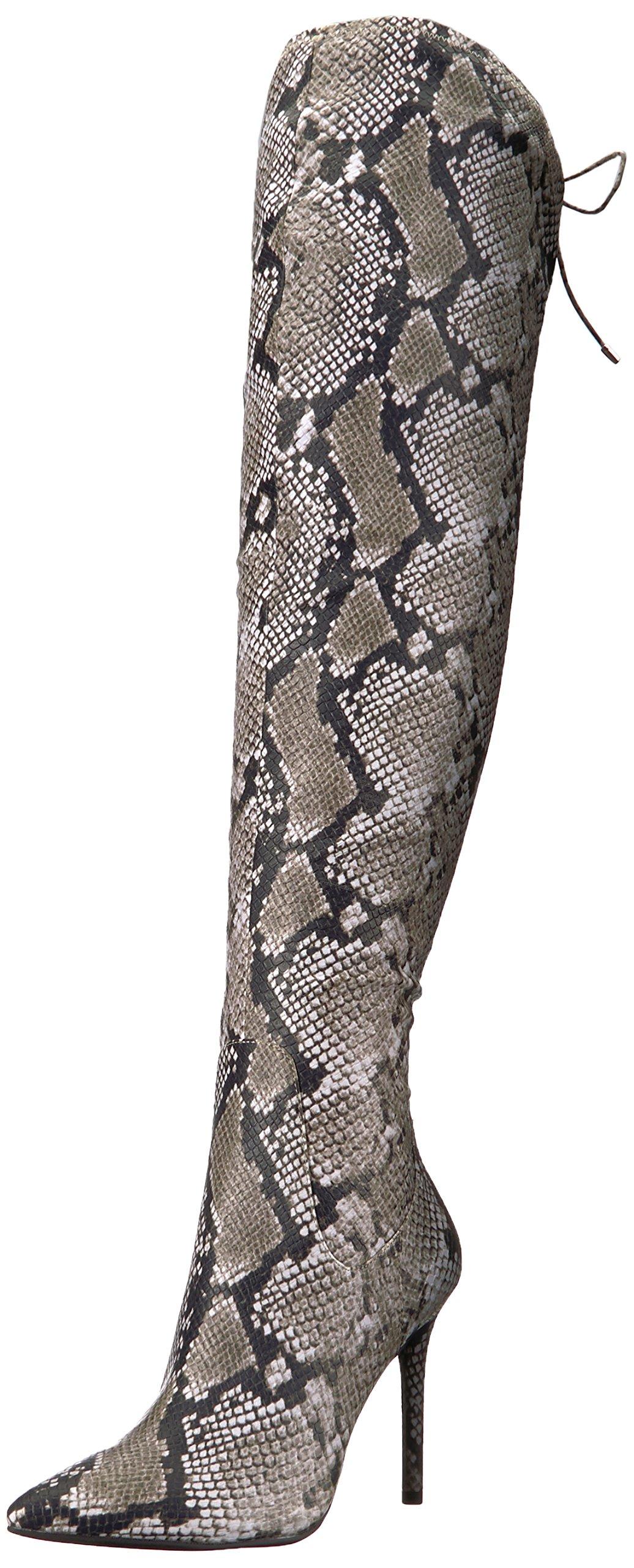 Jessica Simpson Women's Londy Fashion Boot, Natural, 5.5 Medium US