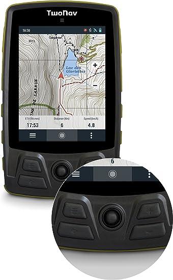 Trail GPS para Senderismo con Pantalla de 37 Gran Autonom/ía y Resistencia a Temperaturas e Impactos TwoNav Color Verde