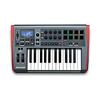 Novation Impulse 25 USB Midi Controller Keyboard