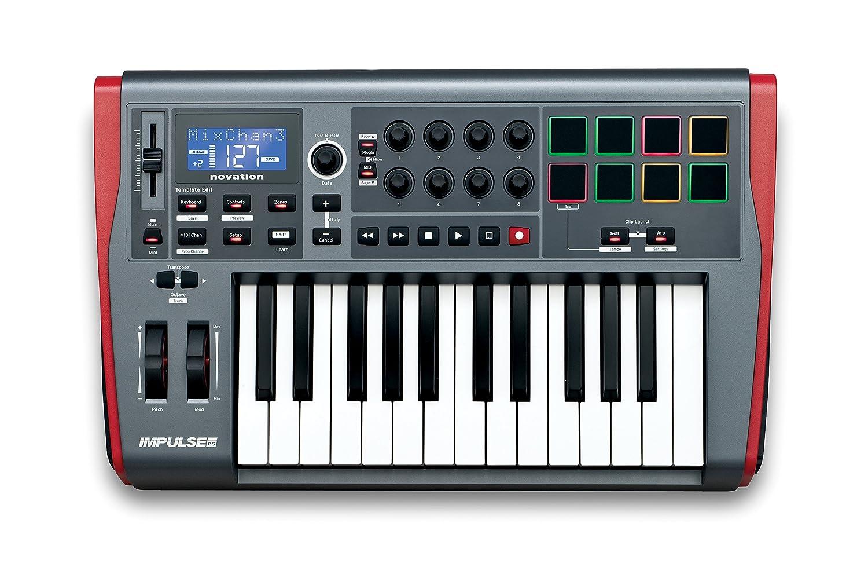 Novation Impulse Teclado MIDI USB  cm  cm cm Mac OS
