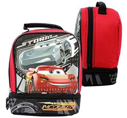 9e18a3c517a Disney Pixar Cars Lightning McQueen Lunch Box with Lightning McQueen    Jackson Storm  Amazon.ca  Luggage   Bags