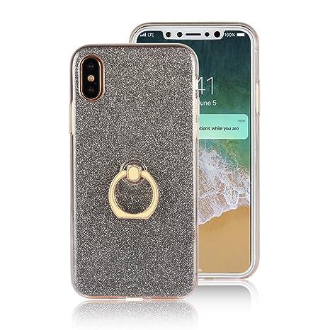 custodia iphone x anello trasparente