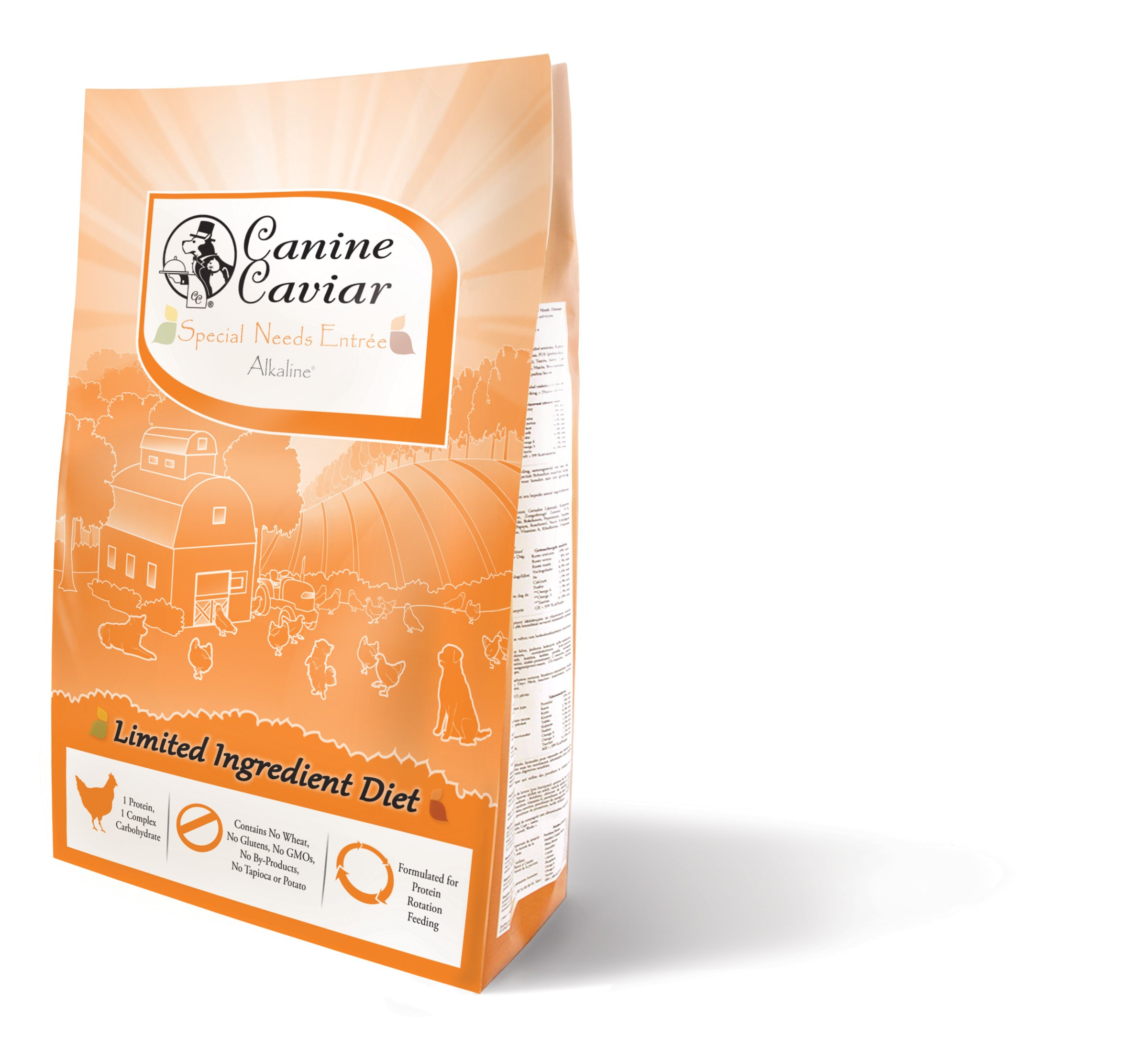 Canine Caviar Dry Special Needs Chicken/Rice, 11 lb
