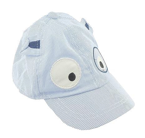 Gorra de béisbol para bebés y niños de 3 a 15 meses con ojos de Googley