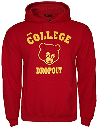 Estwest Mens Hoodie The College Dropout Hooded Jumper Sweatshirt