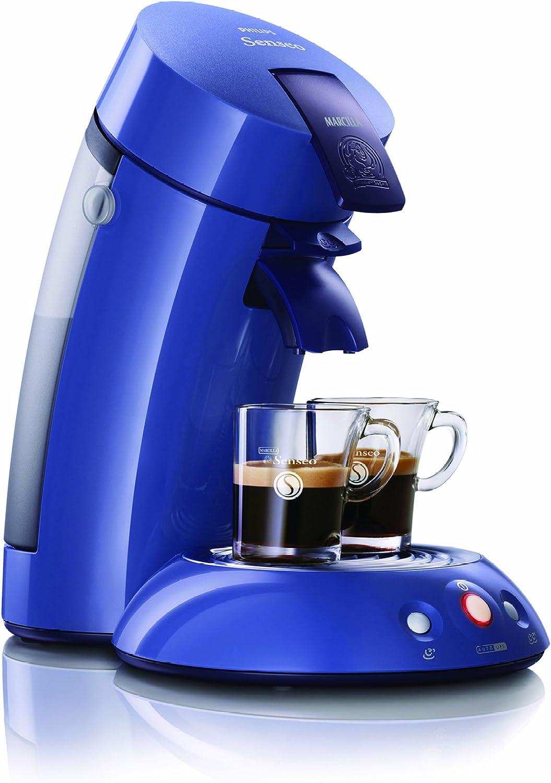 Philips HD7811/72 - Senseo azul, una taza de café recién hecho en 30 seg solo pulsando un boton, sistema exclusiva para crear crema.: Amazon.es: Hogar