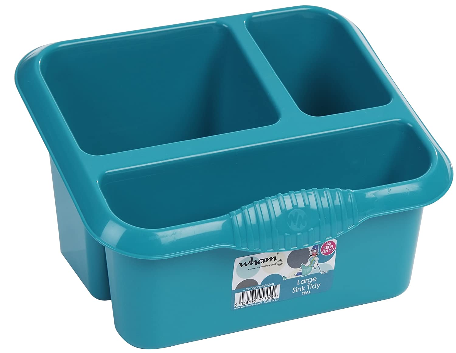 Teal Sink Tidy: Amazon.co.uk: Kitchen & Home