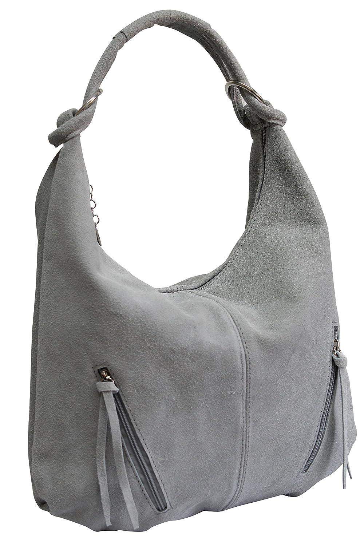 AMBRA Moda Damen Ledertasche Shopper Shopper Shopper Wildleder Handtasche Schultertasche Beuteltasche Hobo Tasche Groß WL822 B07B2961LX Schultertaschen Flagship-Store e2ccdc