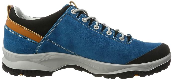 AKU la Val Low GTX, Chaussures de Randonnée Basses Homme, Turquoise (Turquoise/Orange 454), 42 EU