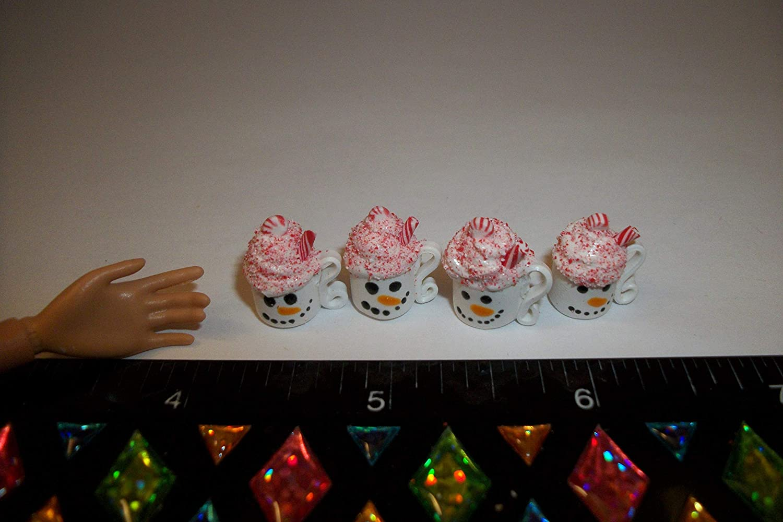 A118 Christmas Dollhouse Miniature Drinks Doll Fake Food