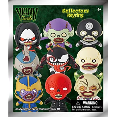 Marvel Villain Zombies - 3D Foam Key Ring in Blind Bag: Toys & Games [5Bkhe0303004]