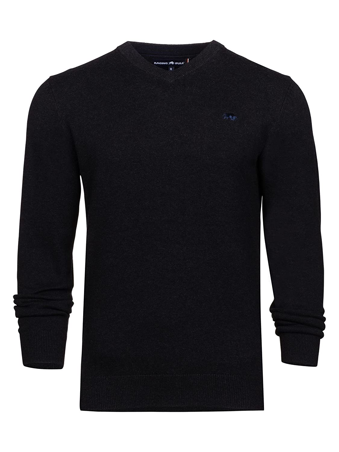 Raging Bull Big and Tall V-Neck Cott/Cash Sweater, Jersey para Hombre