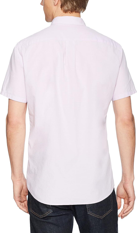 Brand Goodthreads Mens Standard-Fit Short-Sleeve Solid Poplin Shirt