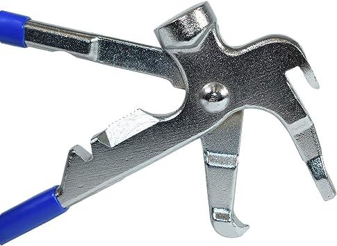 Voiture roue poids pneu équilibreuse de roue poids remover Pince marteau outil