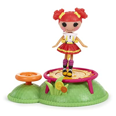 Mini Lalaloopsy Doll Ready, Set...Play!- Trampoline: Toys & Games