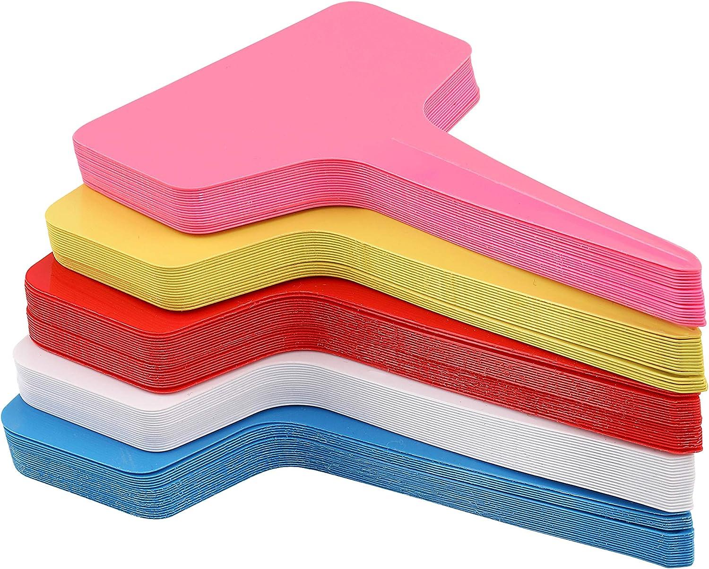 100 unidades Etiquetas y marcadores de plantas de plástico para ...