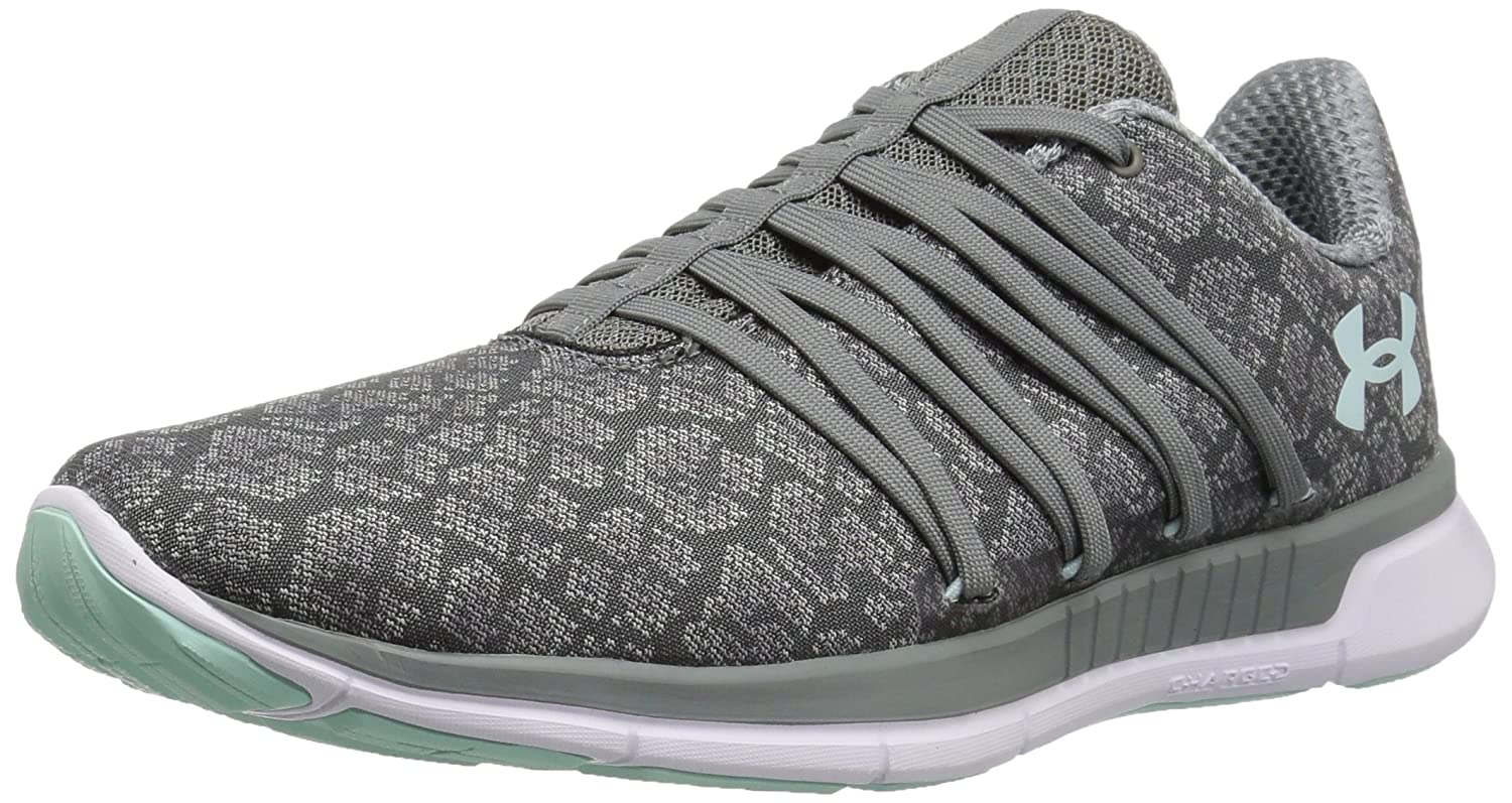 Under Armour Women's Charged Transit Running Shoe B0725R4HRZ 6 M US|Clay Green (100)/White