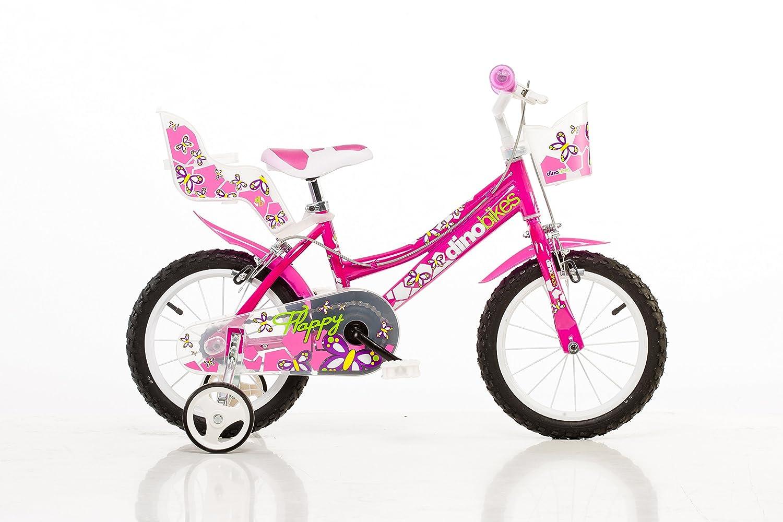 16 Zoll 166R Dino Bikes Mädchenfahrrad Kinderfahrrad d Kinderrad