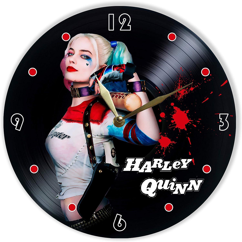 Leooolukkin Harley Quinn Vinyl Clock 12