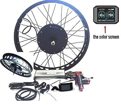 The Hub Motor Electric Bike Conversion Kit