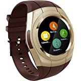 Smart Watch Bluetooth Smartwatch Touch Screen Wearable Multi-function Sport Business Wristwatch for Android Support