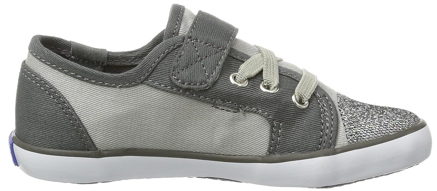 Keds Kids RALLY K, Sneaker unisex bambino, Grigio (Grigio (grigio)), 28.5