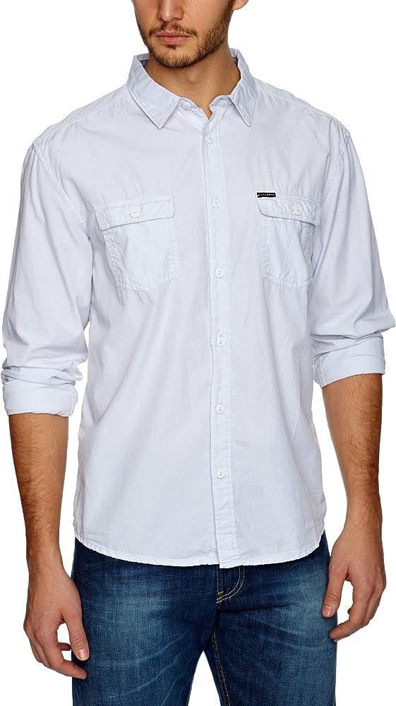 BILLABONG - Camisa para Hombre, tamaño L, Color Plateado: Amazon.es: Ropa y accesorios
