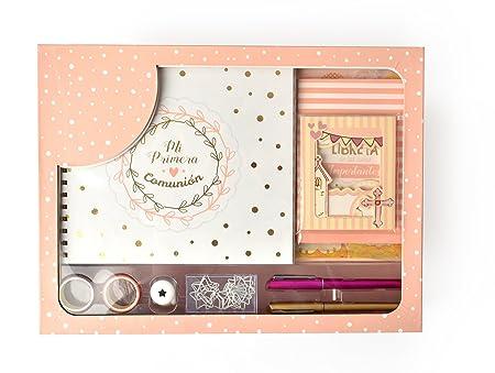 Regalos Para Nina Comunion 2020.Grupo Erik Editores Regalo De Comunion Nina Original Carton Rosa 30 X 40 X 8 Cm