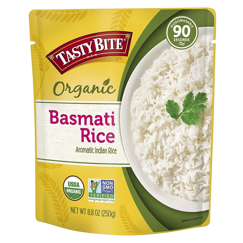 Tastybite, Rice Basmati Organic, 8.8 Ounce