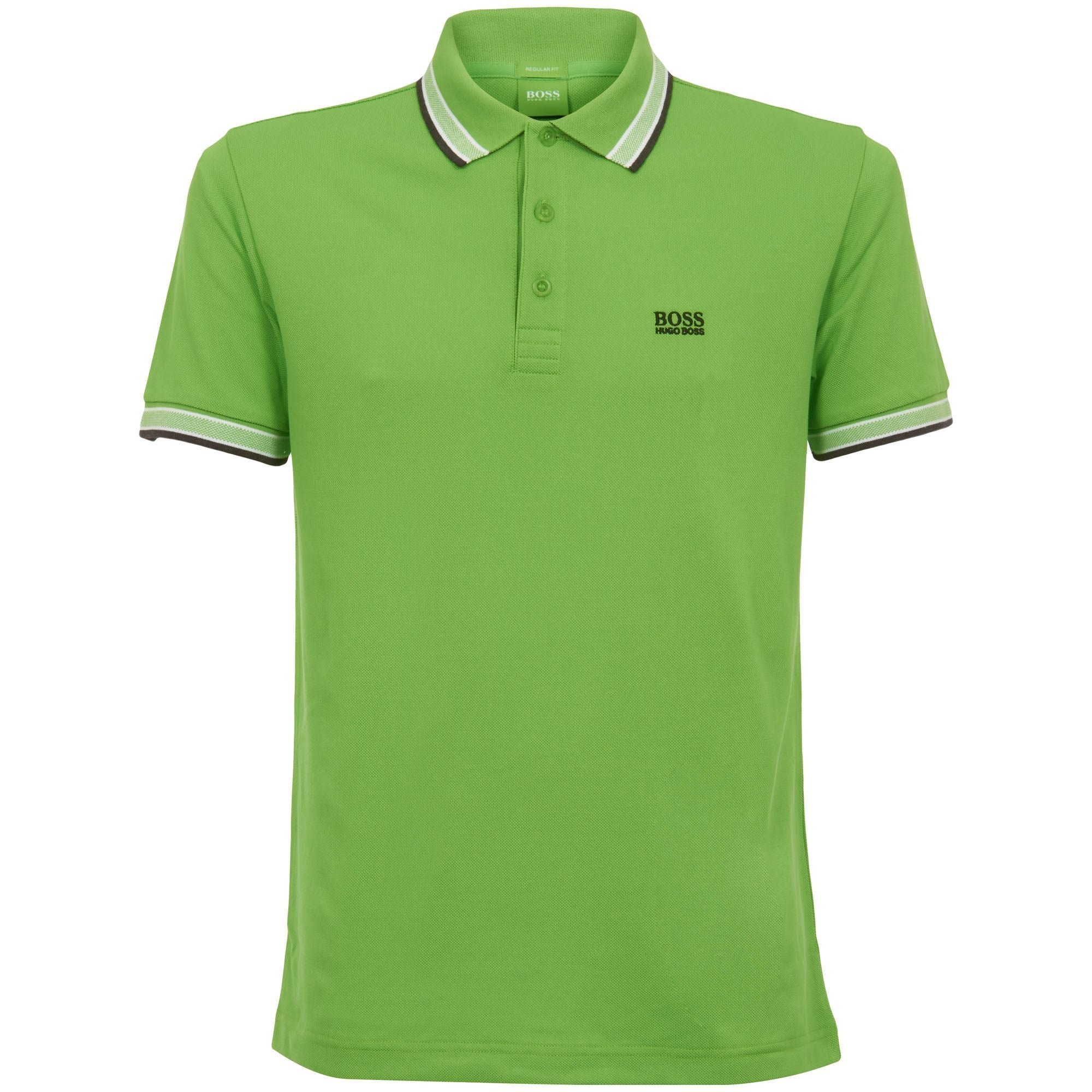 BOSS Green Men's Paddy Polo,Pastel Green, XL by Hugo Boss