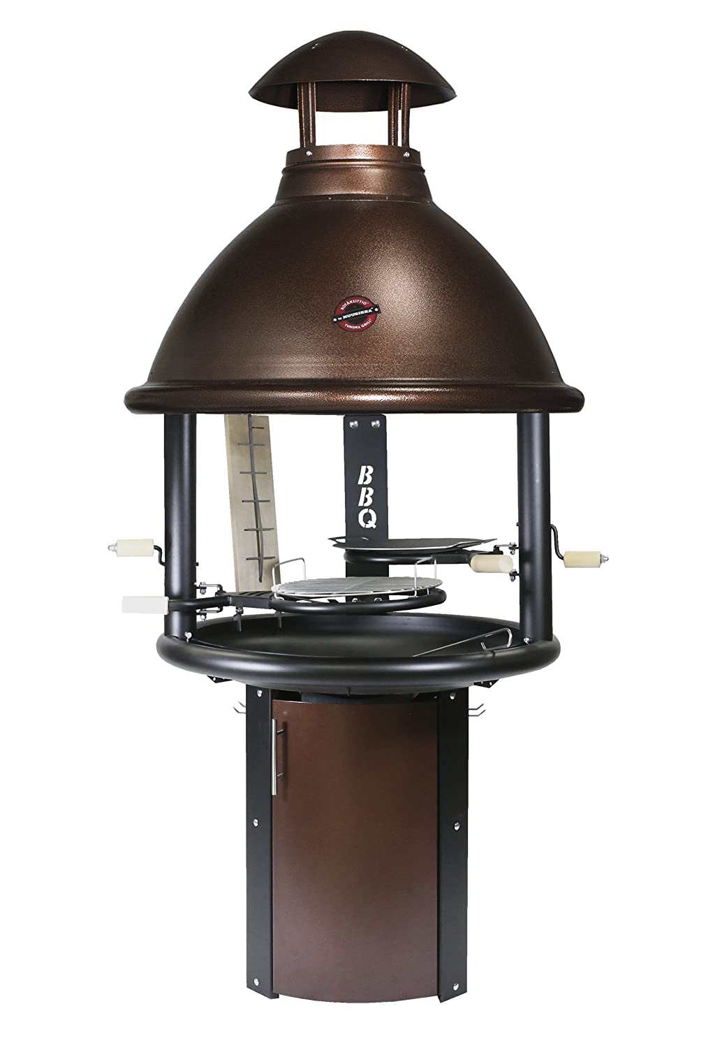 Muurikka Tundra Bbq High Model Outdoor Grill Fireplace Copper 30 X