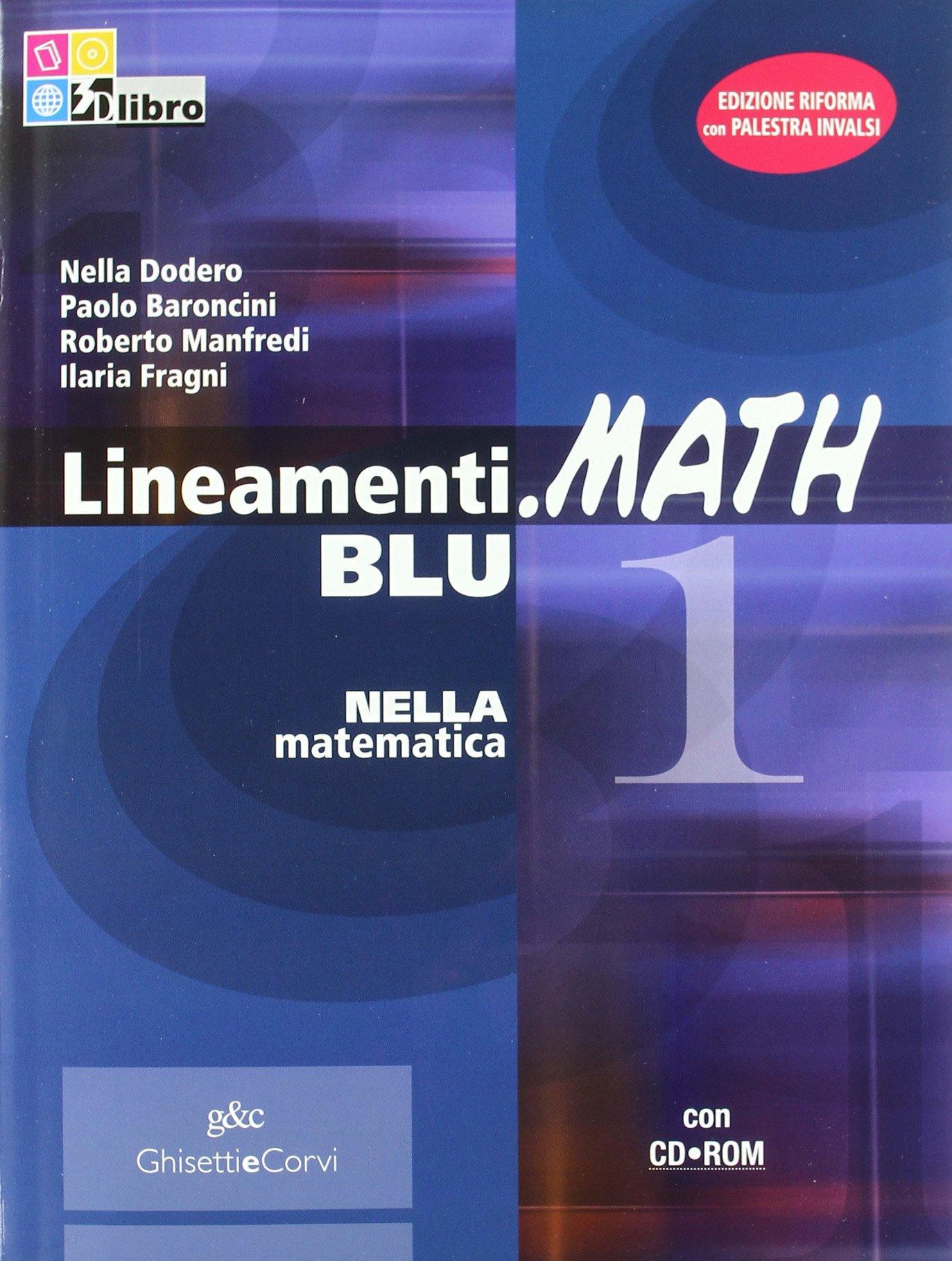 lineamenti.math blu 1 nella matematica
