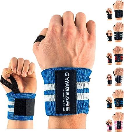 Gewichtheben Kraftsport Calisthenics Handgelenkschutz f/ür Crossfit Fitness - Die neuen innovativen Wrist Wraps 1 Paar REP AHEAD/® Fitness Handgelenk Bandagen Gym Turnen Bodybuilding