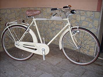 Bicicleta Vintage 28 Hombre Mod.Erre Vicini Col.Marfil: Amazon.es ...