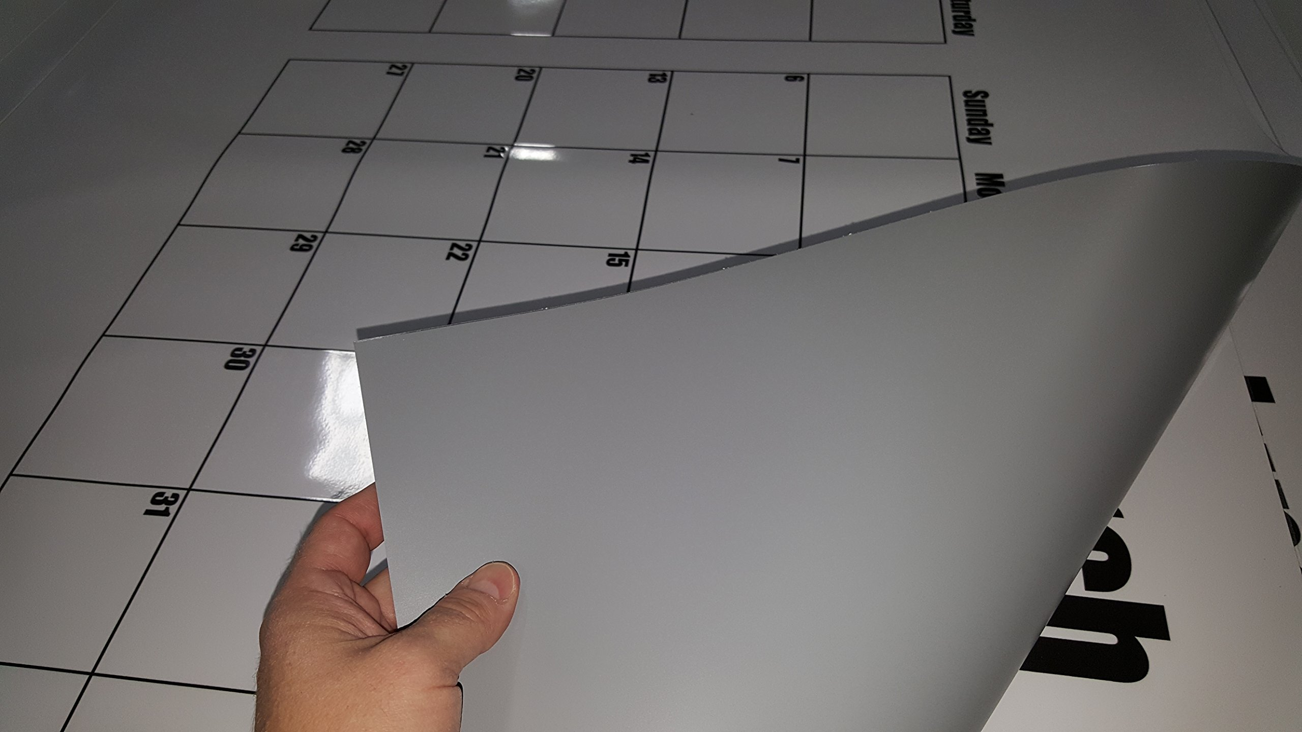Dry Erase Julian Date Calendar - 36 x 72 Large Dry Erase Wall Calendar - Large Wall Calendar - Reusable Annual Calendar - Wall Planner with Vertical Dates and Horizontal Months by Oversize Planner by ABI Digital Solutions (Image #7)