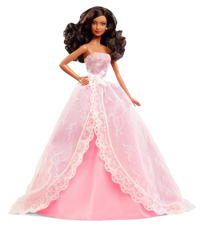 Barbie Collector 2015 Birthday Wishes African-American Doll B00MJ8LXUM Ankleide- & Modepuppen Der Schatz des Kindes, unser Glück  | Online-Shop