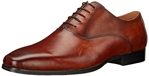 Mens Steve Madden Herbert Oxfords Shoes Tan YRD85515