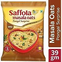 Saffola Masala Oats, Pongal Surprise, 39 gm
