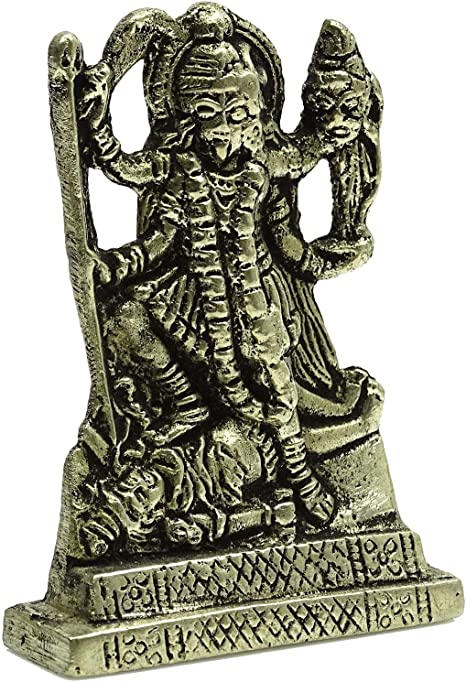 Om Ganesha Car Dashboard Gold Statue Office Table Gift Metal D/écor Traditional
